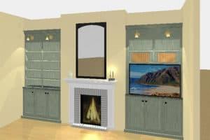 3D Rendering Livinng Room