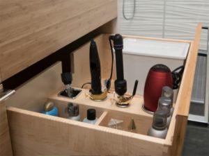 Curling Iron drawer